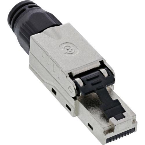 RJ45 Stecker Cat.8.1 2000MHz feldkonfektionierbar geschirmt mit Schraubverschluss