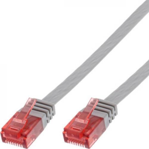 Cat.6 Patchkabel Flach U/UTP PVC CU Inline