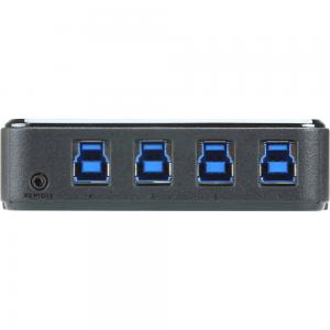 ATEN US3344 USB 3.1 Gen1 Switch 4-Port Umschalter zur Peripherie Freigabe