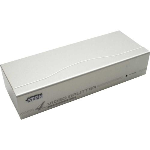 ATEN VS94A Video Splitter SVGA 4fach Monitor Verteiler 350Mhz